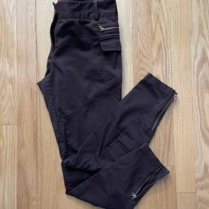 Ted Baker Brown Pants with Rose Gold Accents